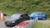 Bentley Bentayga breaks down on the Nürburgring