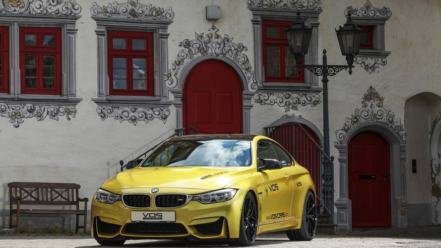 BMW M4 Coupe by VOS packs 550 PS and can do 310 km/h