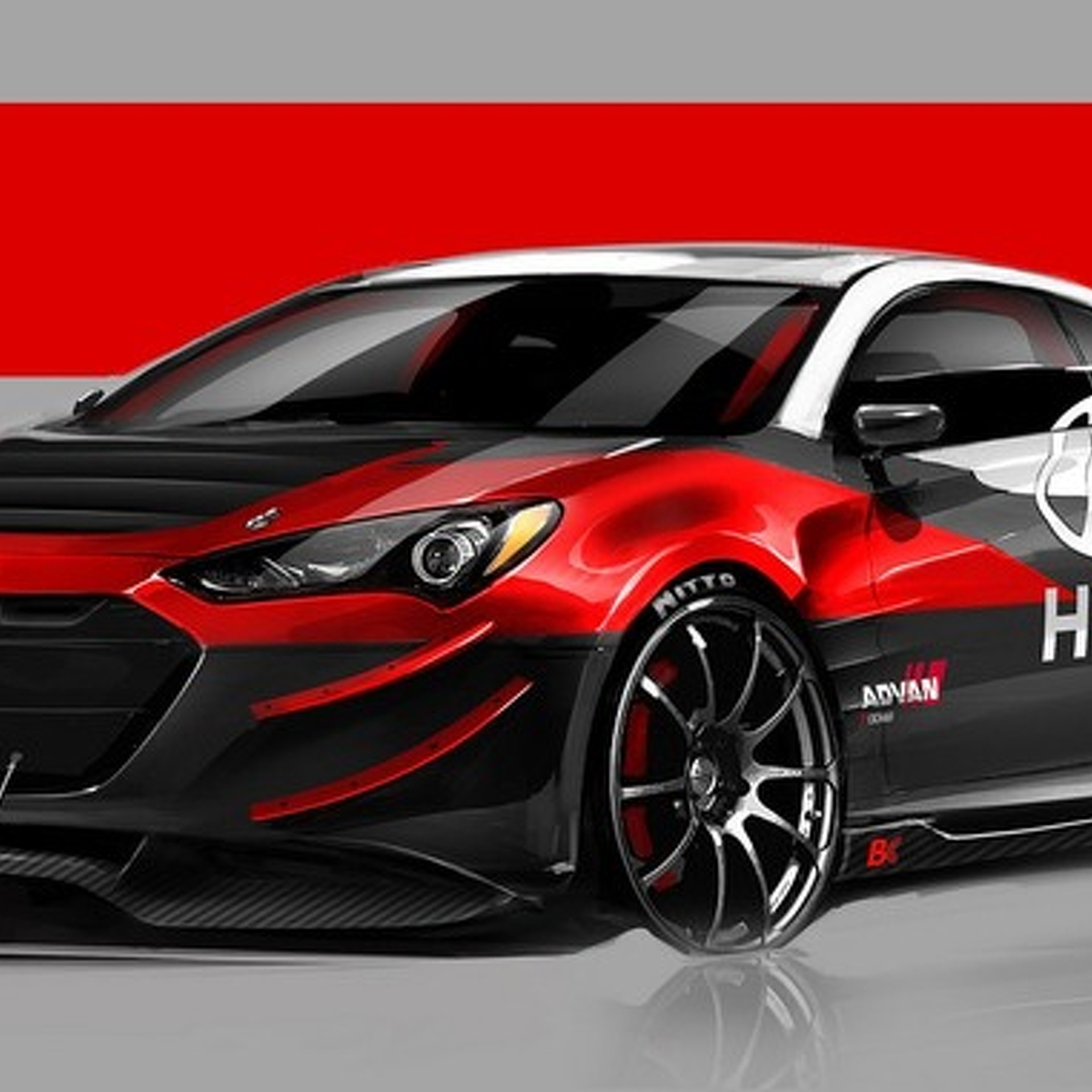 Hyundai genesis coupe r spec track edition for sema teased by ark performance - Hyundai genesis coupe rspec ...