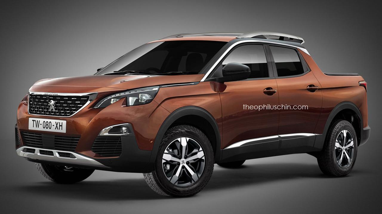 Peugeot pickup rendering