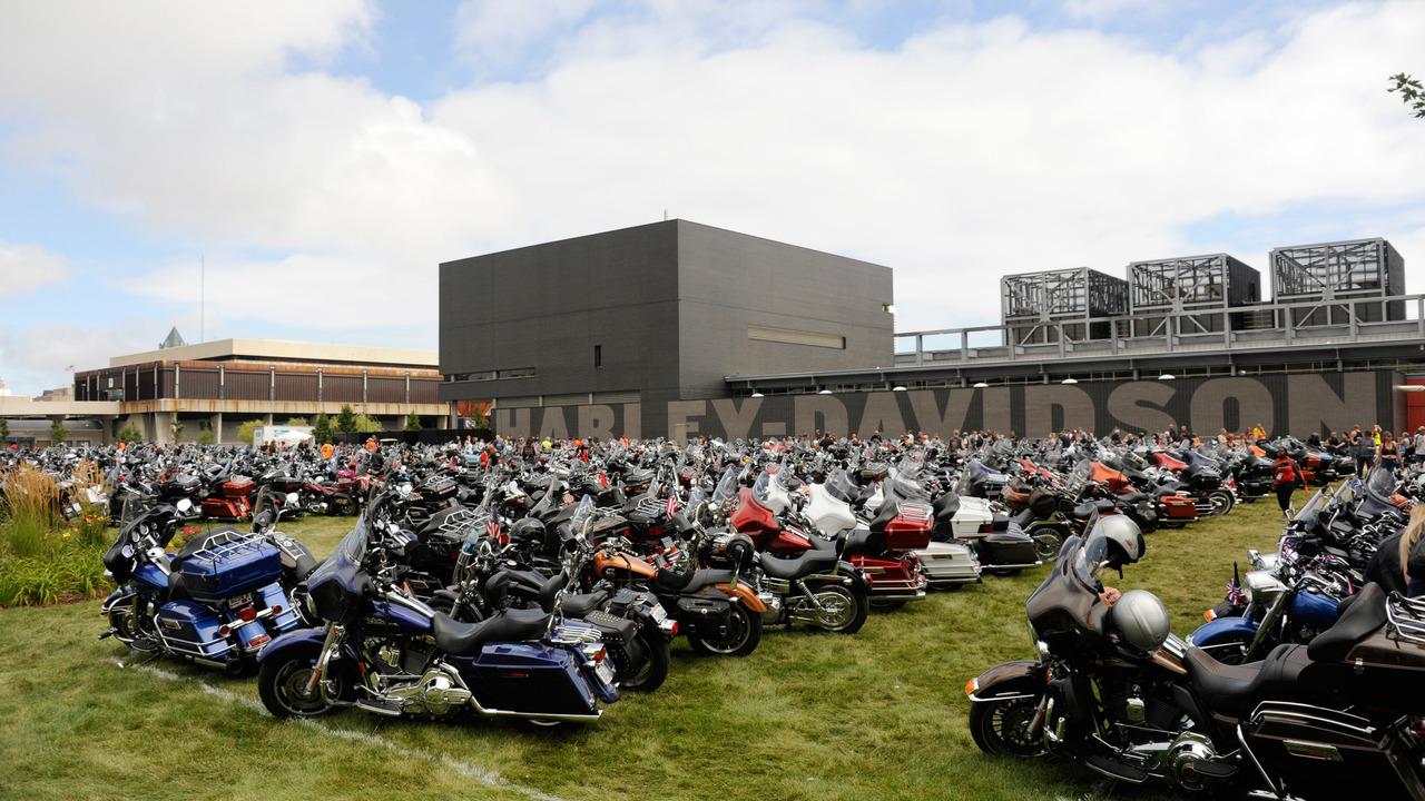 Harley-Davidson 110th anniversary event