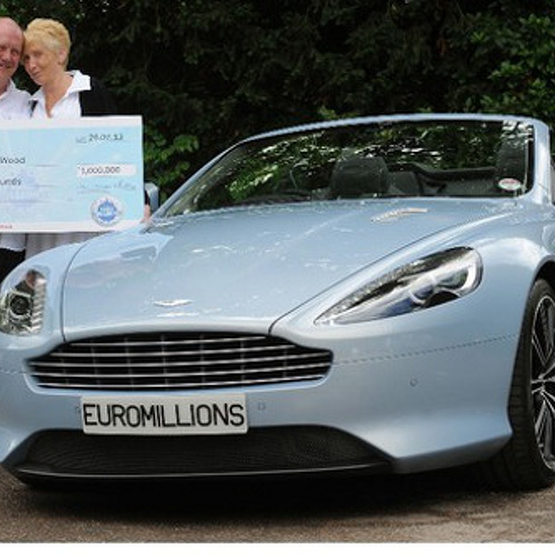 Aston Martin Mechanic Wins Lottery, Can Now Afford To Own One