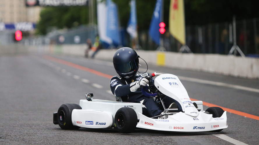 Karting's electric future arrives at Berlin Formula E race