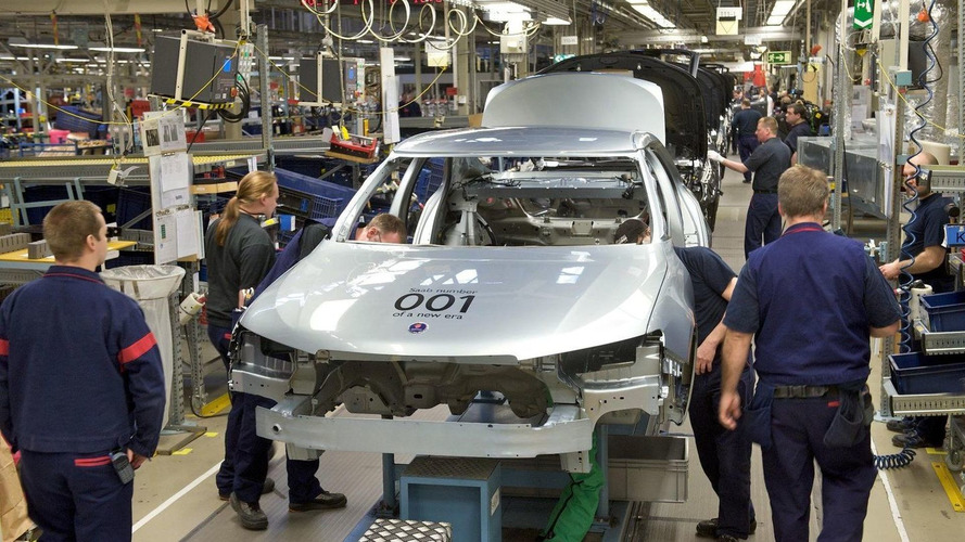 Saab Production Resumes in Sweden