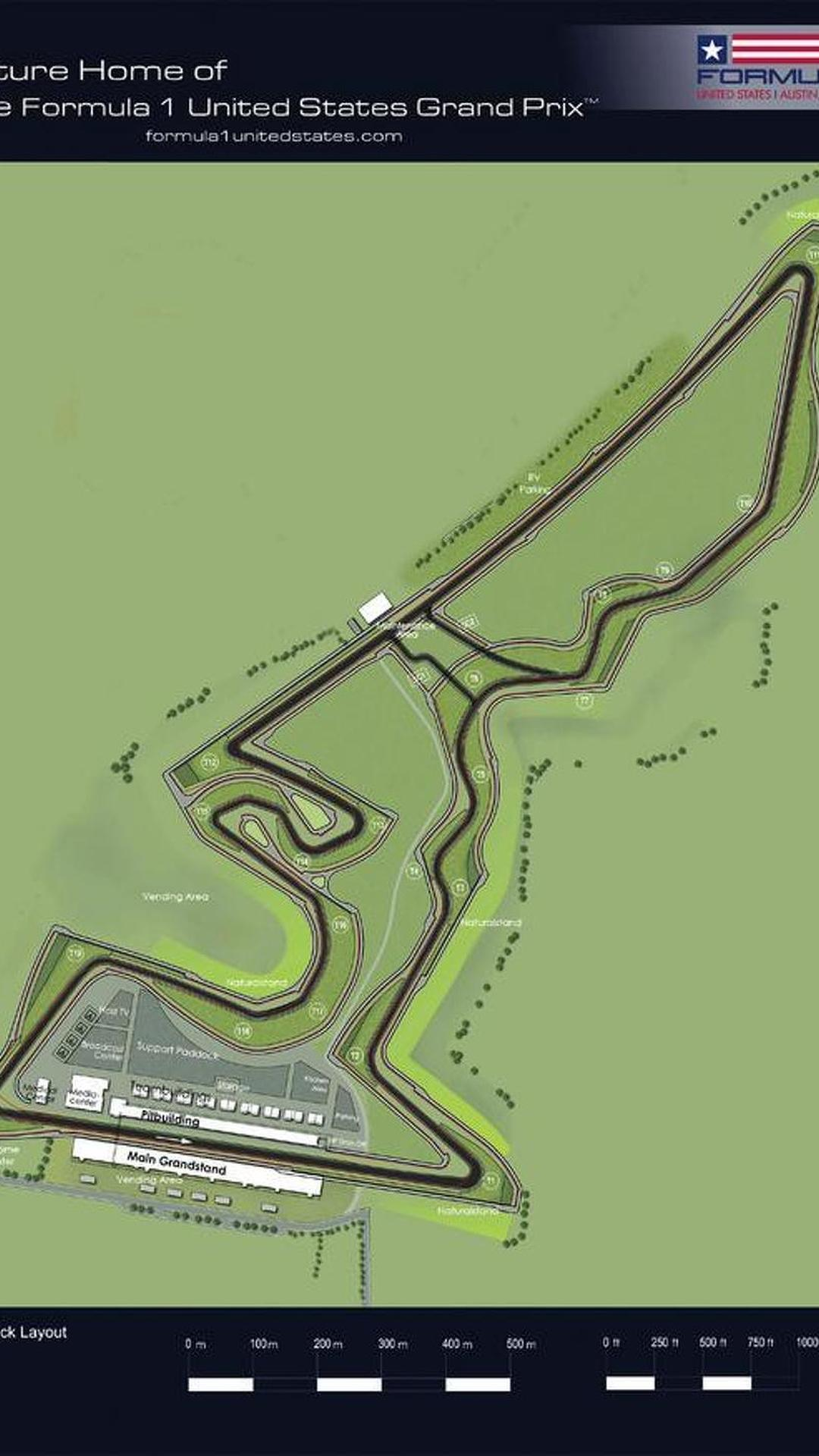 Austin's US GP track layout revealed