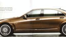 2010 Mercedes-Benz S-Class facelift leaked brochure images