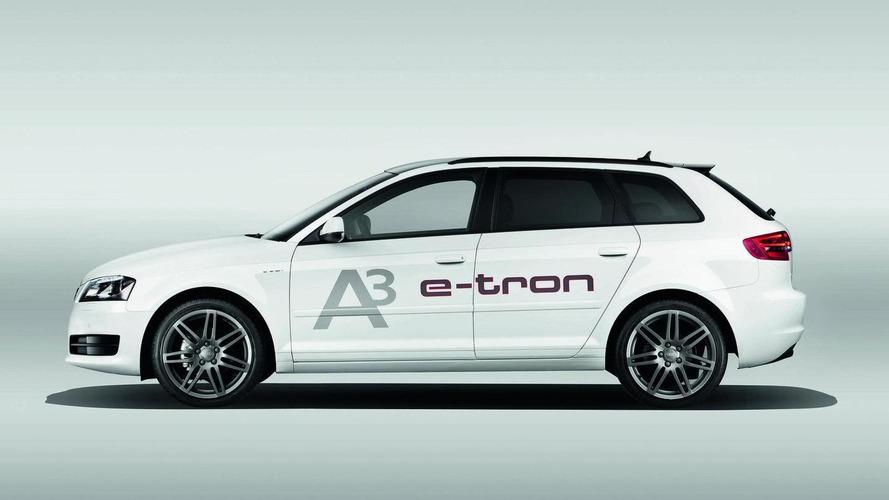 Audi e-tron A3 technical study revealed
