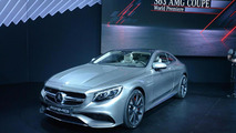 Mercedes S63 AMG Coupe powers into New York with 577 bhp