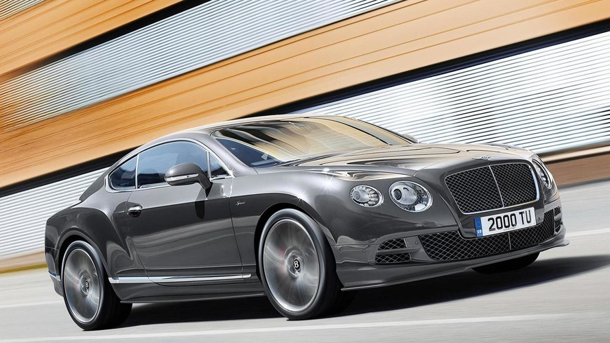 2014 Bentley Continental GT Speed introduced with 626 bhp