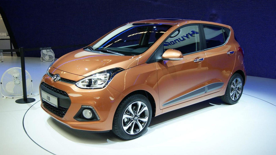 2014 Hyundai i10 introduced in Frankfurt