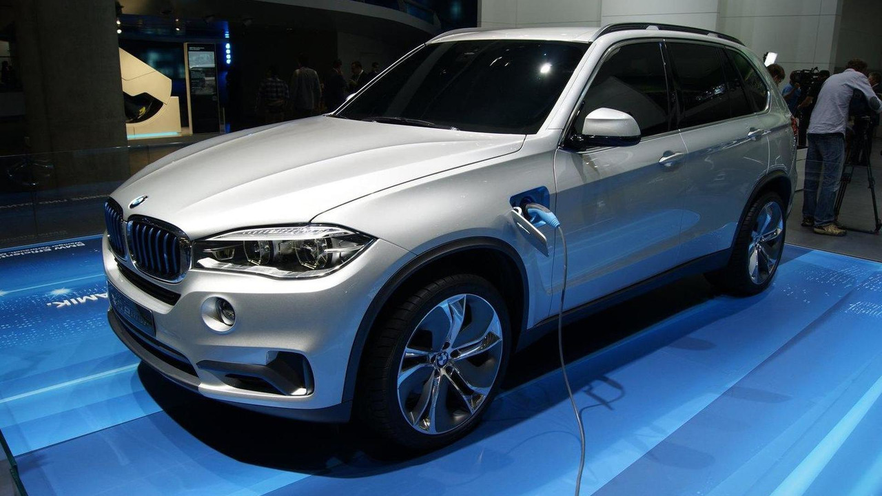 BMW X5 eDrive concept in Frankfurt