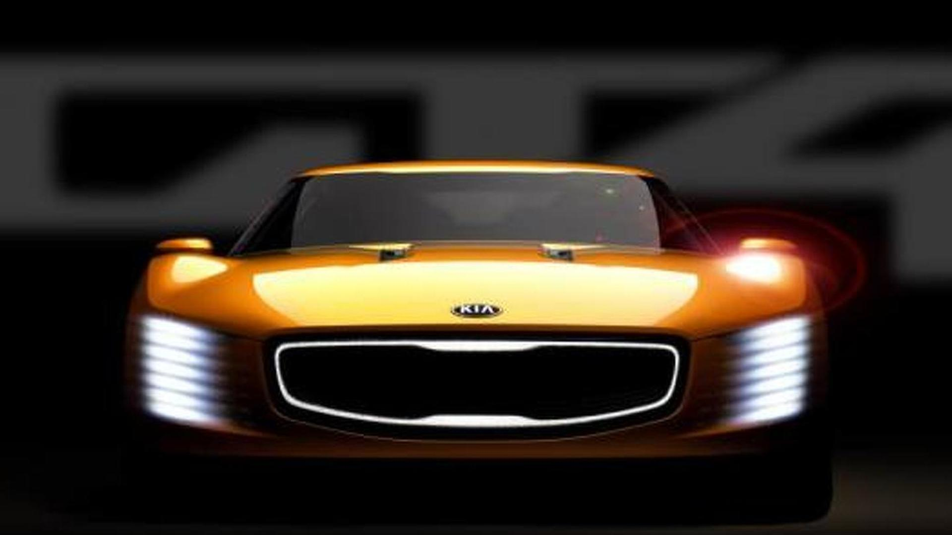 Kia GT4 Stinger concept announced with rear-wheel drive & 315 bhp