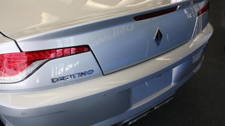 Corvette ZR1-powered, Fisker Karma-looking Destino debuts at NAIAS [UPDATED]