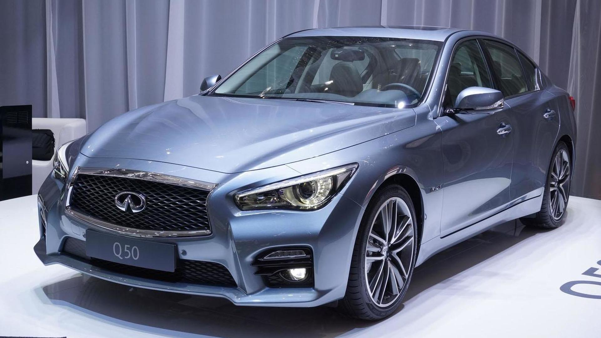 2014 Infiniti Q50 unveiled in Geneva with a diesel engine