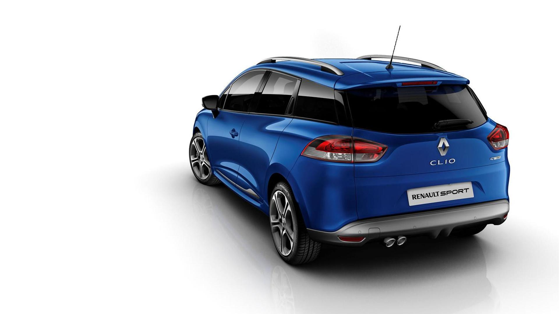 Renault Clio GT 120 EDC hatchback and estate officially revealed in Geneva [UPDATED]