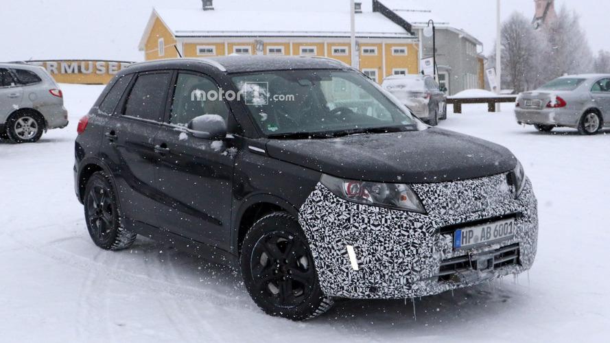 Suzuki Vitara already spied prepping for mild facelift