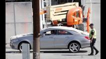 Segredo? Novo Mercedes CLS 2011 é flagrado em sessão de fotos