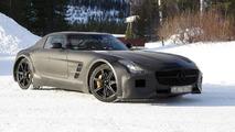 2013 Mercedes SLS AMG Black Series spy photo