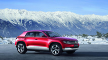 VW Cross Coupé Concept with TDI plug-in hybrid
