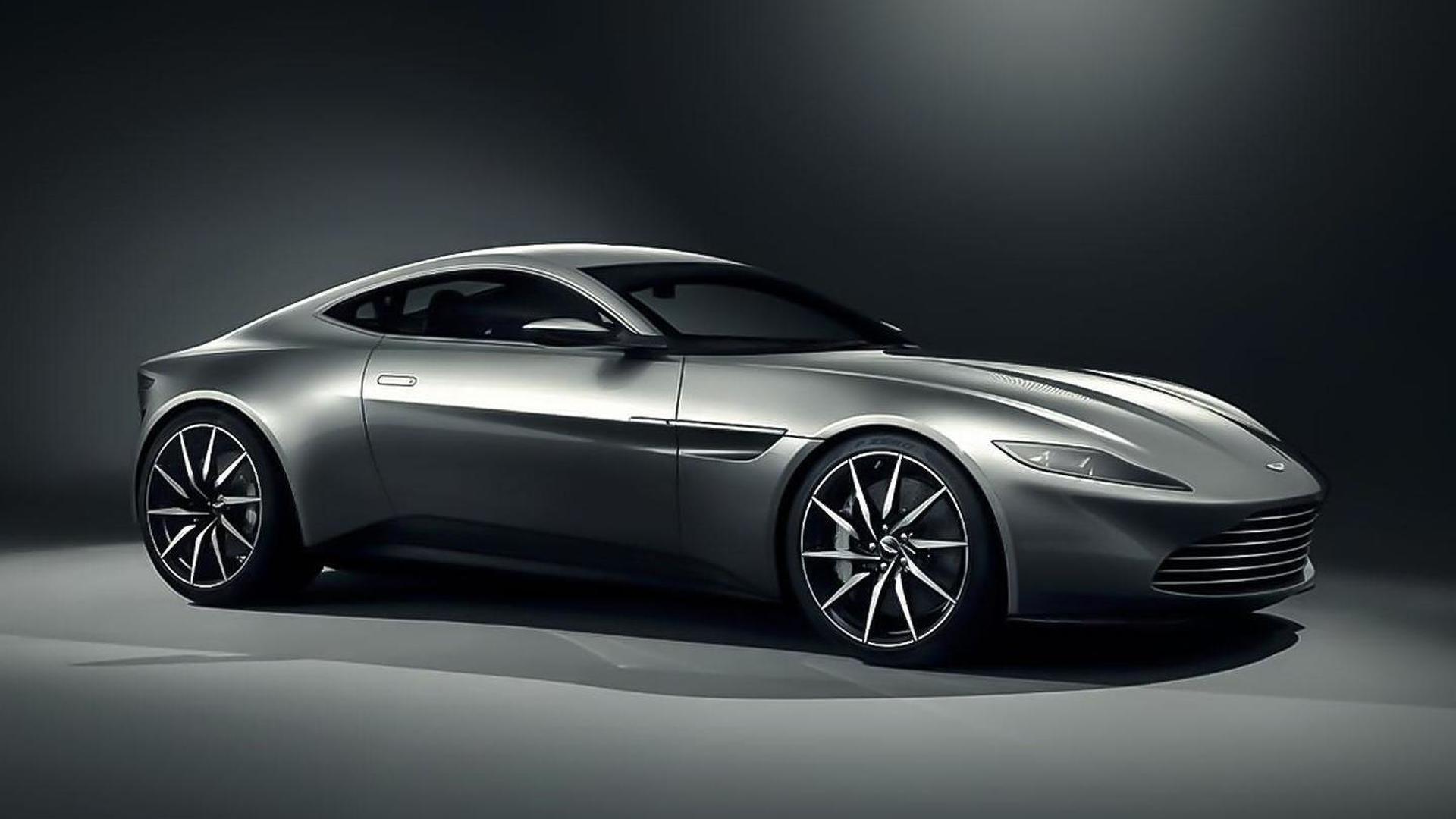 Aston Martin DB10 hints at the next Vantage