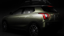 SsangYong teases XIV-Air and XIV-Adventure concepts ahead of Paris reveal