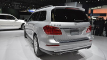 2013 Mercedes-Bez GL-Class live in New York 04.04.2012