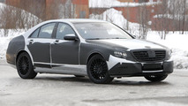 2013 Mercedes-Benz S-Class, confirmed tech details revealed