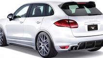 Vorsteiner previews new styling package for the Porsche Cayenne