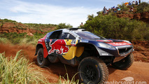 "Shocked Loeb ""didn't expect"" Dakar Rally lead"