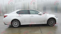 2013 Lexus GS caught undisguised