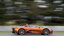 Jaguar C-X75 concept and Felipe Massa