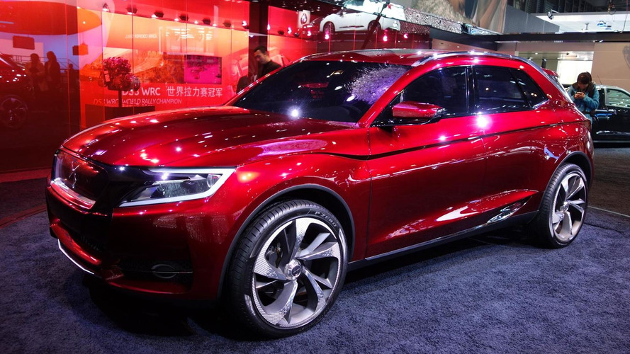 Citroen DS X7 confirmed for 2014 in China