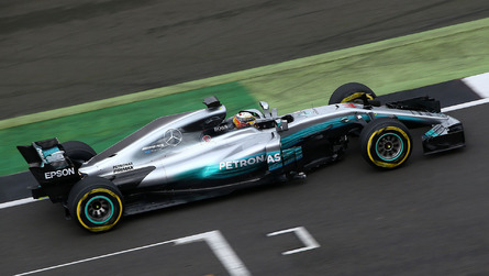 Mercedes officially launches its 2017 F1 challenger