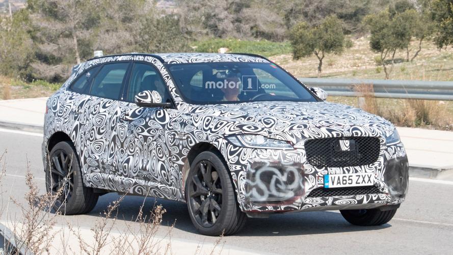Jaguar F-Pace SVR sheds some camo in new spy shots