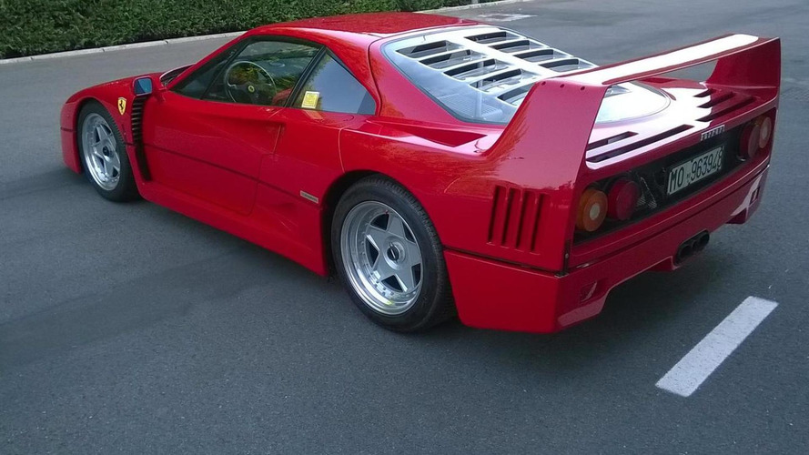 1992 Ferrari F40 fetches a record €1.12 million at auction