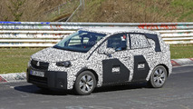 Opel Meriva spied on the Nürburgring