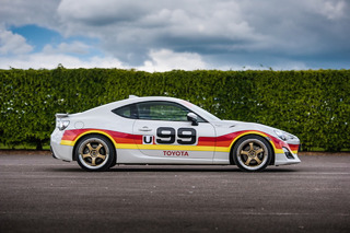 Toyota Displays a Six Pack of Retro-Liveried GT 86 Sports Cars