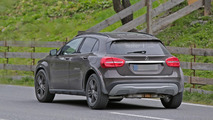 Possible Mercedes GLB spy photo