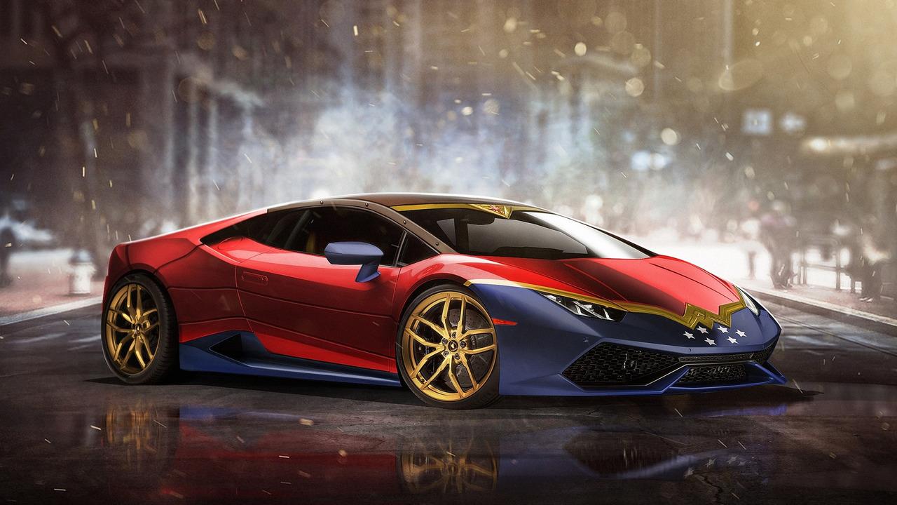 Wonder Woman - Lamborghini Huracan