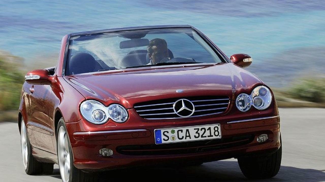 Mercedes CLK Class Cabriolet
