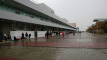 Yeongam very wet hours before Korean GP