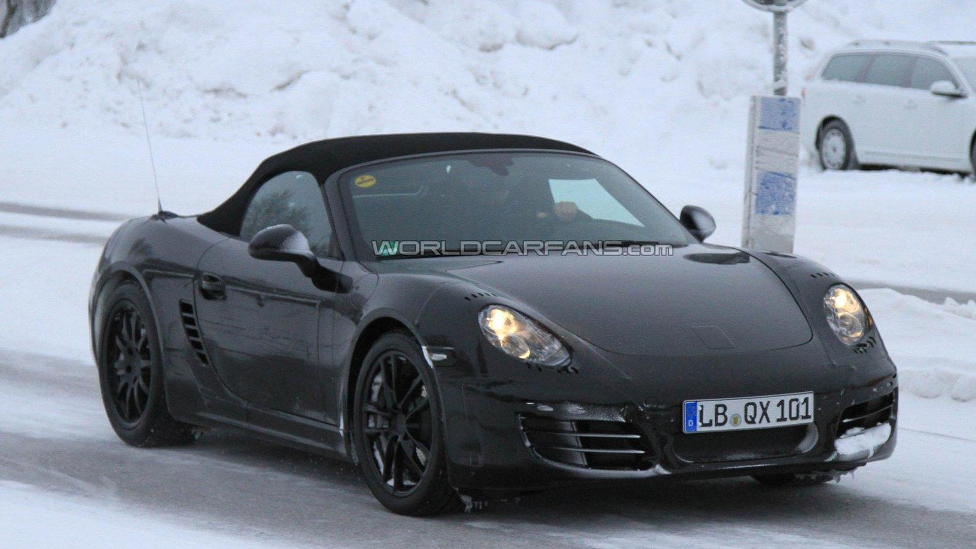 2012 Porsche Boxster spied along with next 911 - new details
