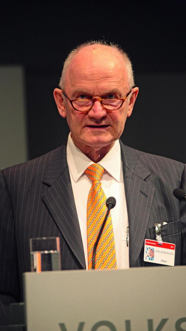 Prof. Dr. Ferdinand Piëch, Vorsitzender des Aufsichtsrats der Volkswagen AG 23.04.2009
