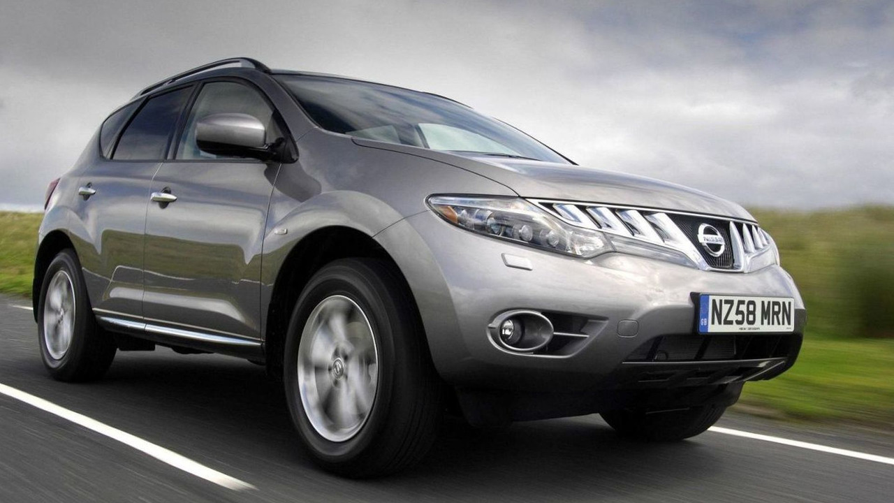 2010 Nissan Murano 2.5 dCi, UK spec, 18.03.2010
