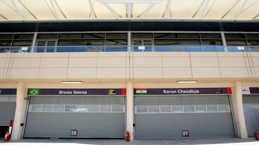 HRT's garage doors stay closed in Bahrain