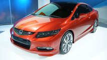 2012 Honda Civic Si Coupe Concept live in Detroit 10.01.2011