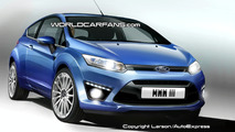 Ford Focus Coupe Artists Rendering