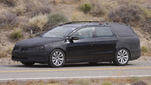 2012 Volkswagen Passat Variant spied hot weather testing in Death Valley