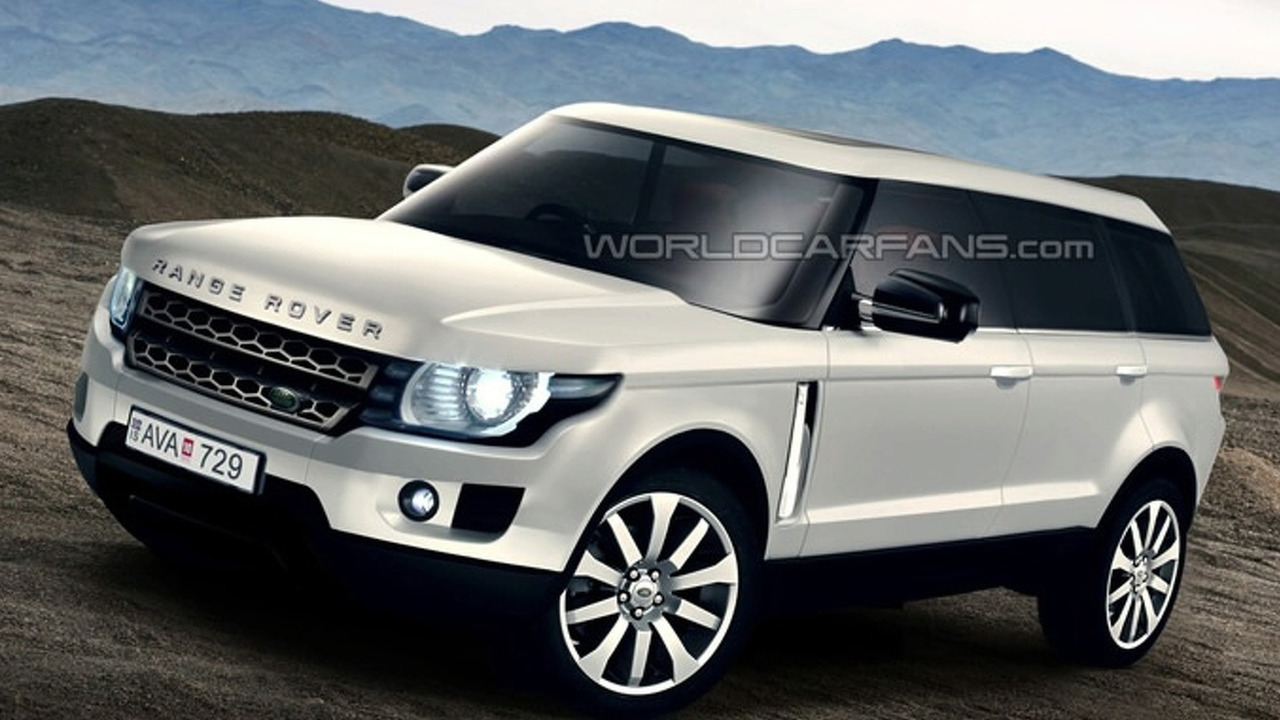 Next Generation Range Rover Artists Rendering