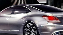 2010 Hyundai Equus Teaser Rendering